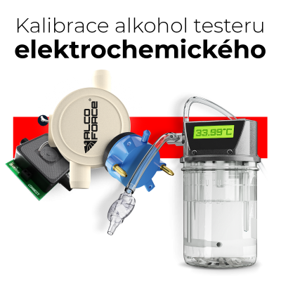 Kalibrace elektrochemického alkohol testeru