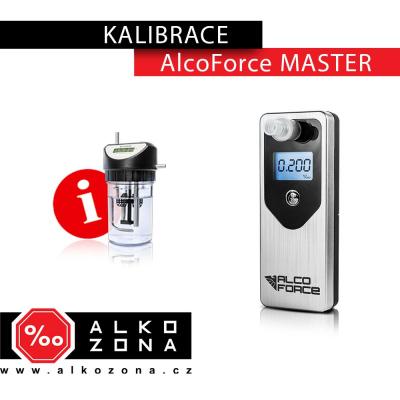 Kalibrace AlcoForce MASTER
