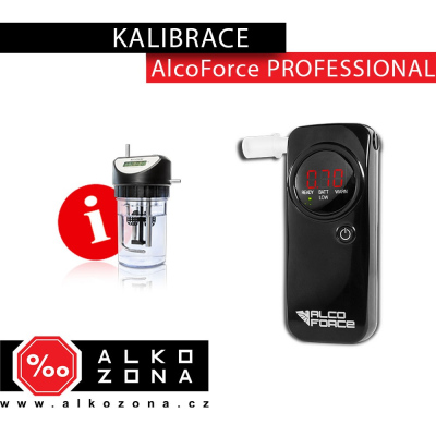Kalibrace AlcoForce PROFESSIONAL