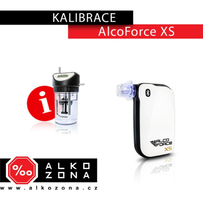 Kalibrace AlcoForce XS