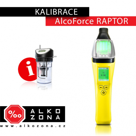 Kalibrace AlcoForce Raptor