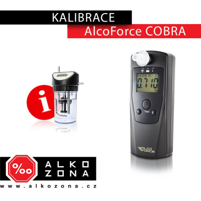 Kalibrace AlcoForce COBRA
