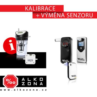 Kalibrace a výměna senzoru osobni alkohol testery