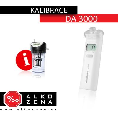 Kalibrace DA 3000