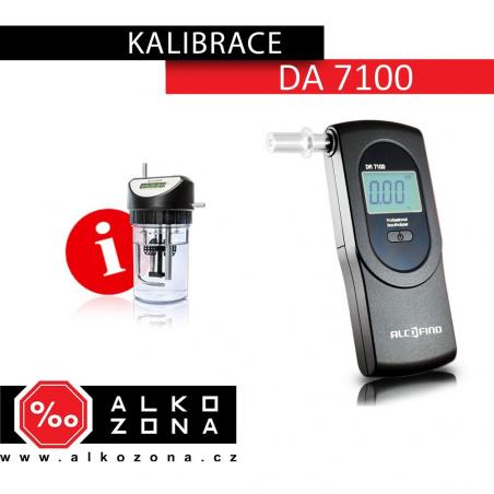 Kalibrace DA 7100