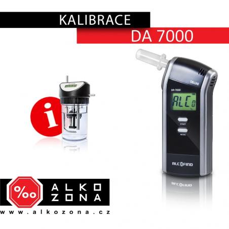 Kalibrace DA 7000