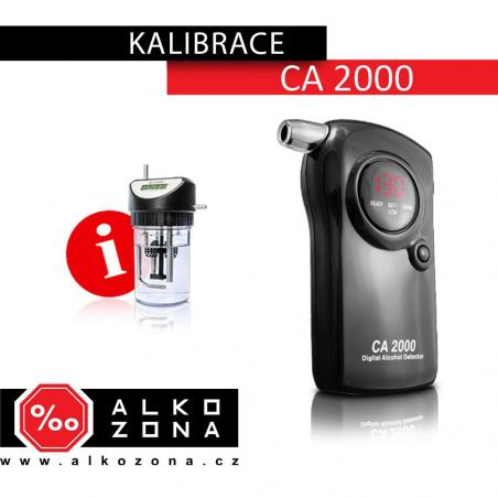 Kalibrace CA 2000